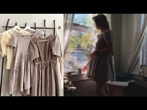 Finding Peace and Purpose | Sewing a Whimsical Dress | Simple Slow Fashion Vlog
