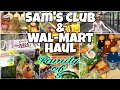 Huge sam s club wal mart grocery haul family of five haul once a month 2020 mp3
