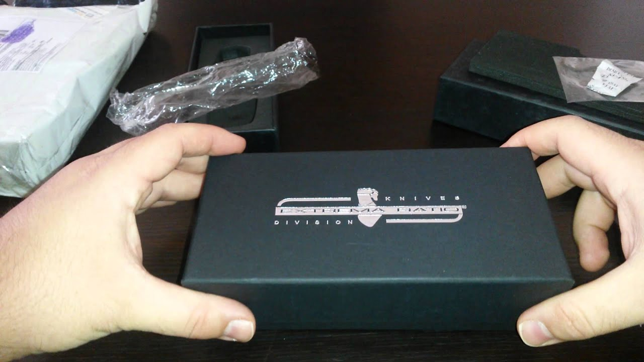 Unboxing Aliexpress Replica E.R.  Nemesis & Fulcrum II