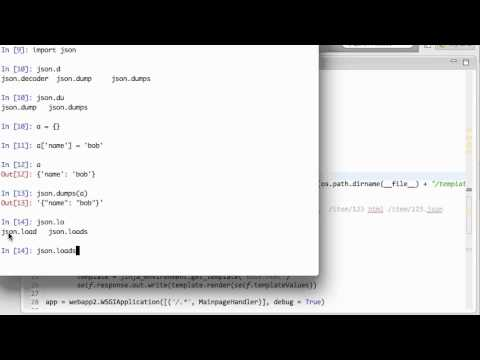 JavaScript JSON Ajax Requests to App Engine Tutorial