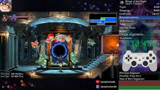Bloodstained: Ritual of the Night NG, Good Ending(Any%?) Speedrun - 1:03:35
