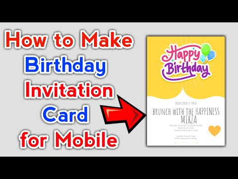 happy-birthday-card-maker-app-||-how-to-make-birthday-invitation-card-for-mobile