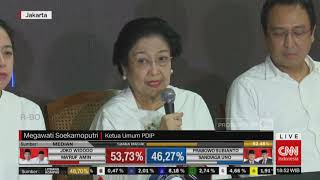 Download Megawati Puji Pidato 'Kemenangan' Prabowo soal Quick Count Mp3 and Videos