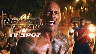 Fast & Furious Presents - Hobbs & Shaw - TV Spot (Action)