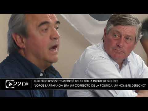 Intendente Besozzi recordó y destacó la figura de Jorge Larrañaga