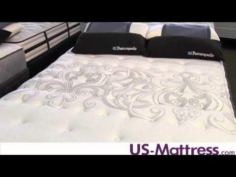 Sealy Posturepedic Gel Series Warrenville Plush Euro Pillow Top Mattress