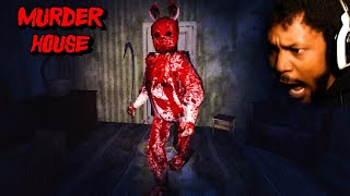 loudest i've ever screamed playing a horror game [Murder House - Full Game]