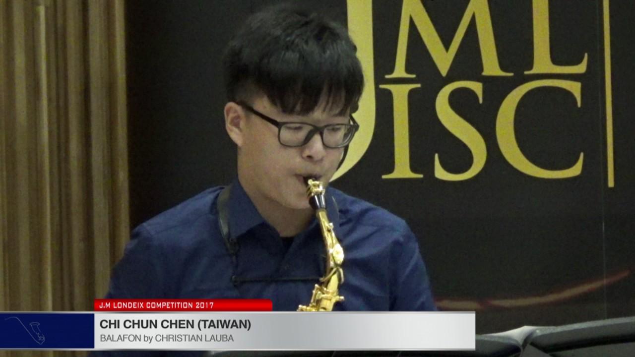 Londeix 2017 - Chi Chun Chen (Taiwan) - Balafon by Christian Lauba
