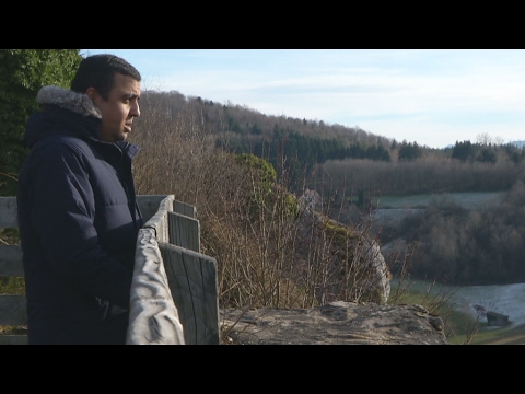 Ferrette: The French village giving hope to migrants