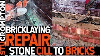 Bricklaying  Repair- Replacing Stone Cill with Bricks