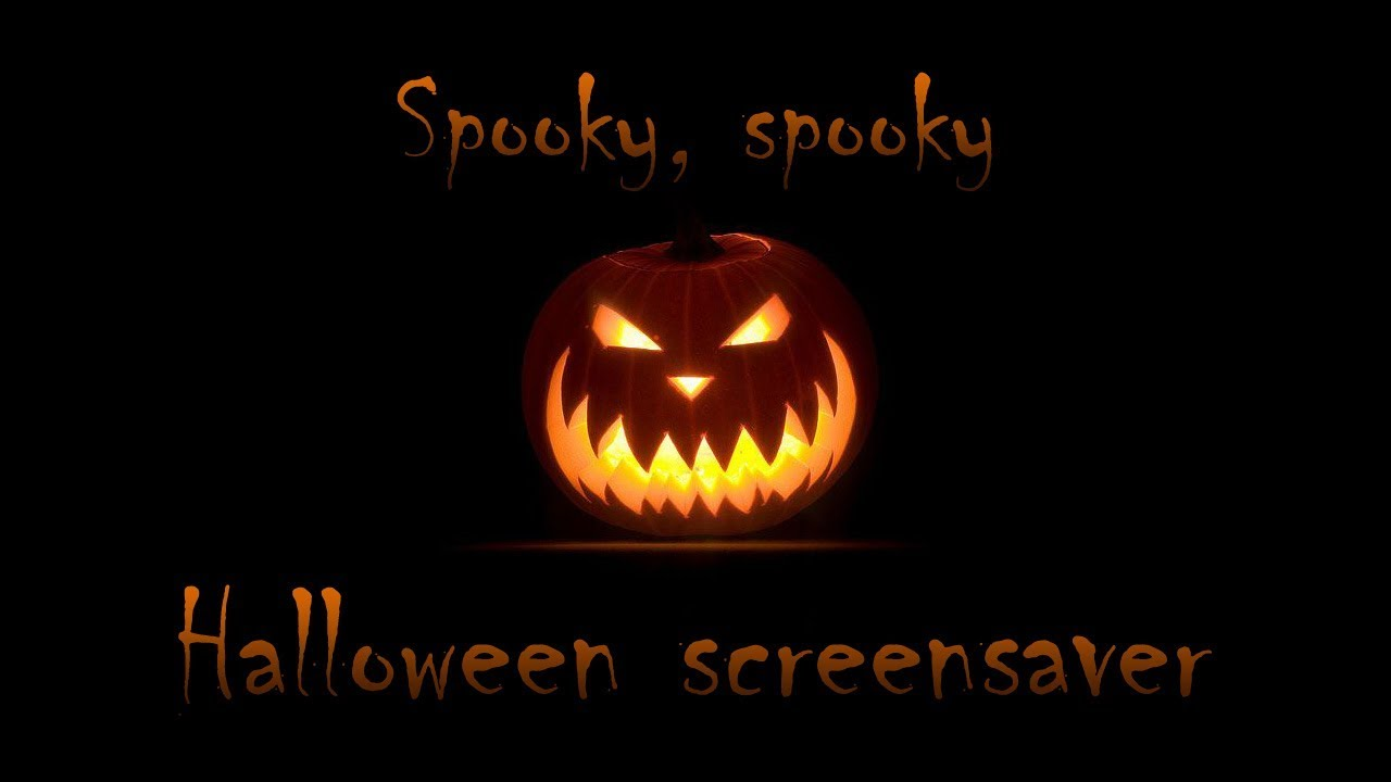 Spooky halloween screensaver animated youtube - Scary halloween screensavers animated ...