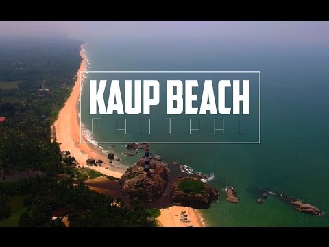 Kaup Beach, Manipal , Karnataka Aerial View
