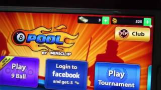 8 Ball Pool Hack Coins & Cash With GameKiller.