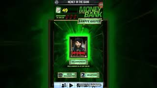 WWE SUPER CARDS money in the bank