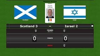 Snooker Team Masters Groups : Scotland 3 vs Israel 2