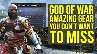 God of War Best Armor YOU DON'T WANT TO MISS Early In The Game (God of War Tips - God of War 4 Tips)
