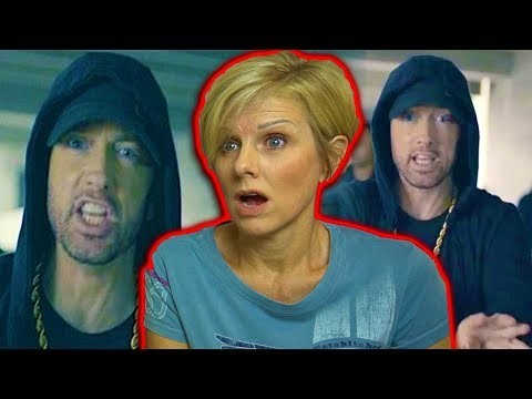 Mom REACTS to Eminem Rips Donald Trump In BET Hip Hop Awards Freestyle Cypher!