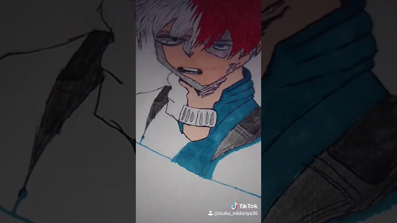Mon dessin- Shoto Todoroki - YouTube