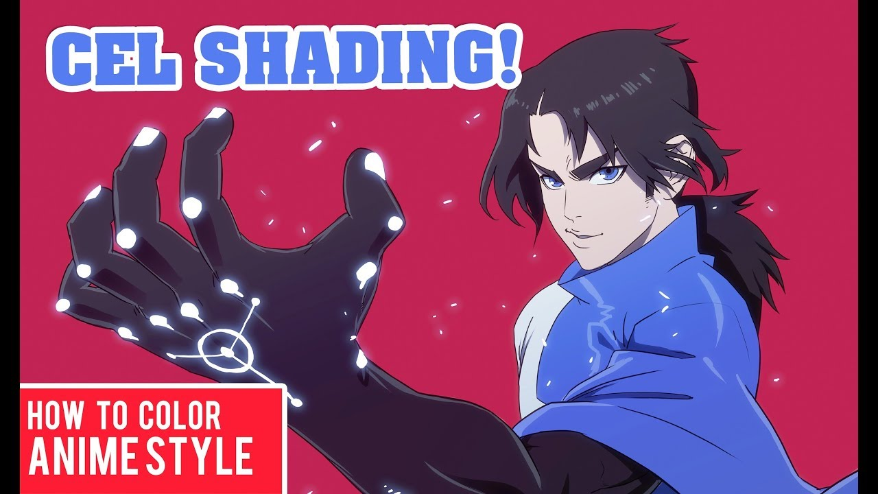 Drawing and Coloring CEL SHADING Tutorial | ANIME STYLE