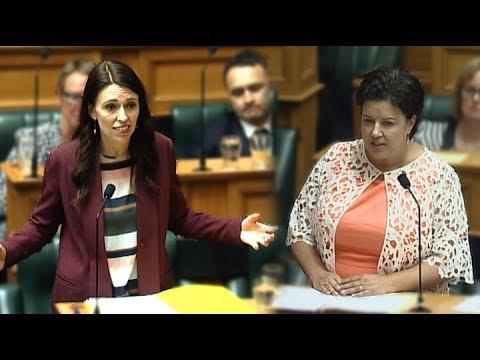 Paula Bennett asks Jacinda Ardern if she'll 'scatter money around' for needy children