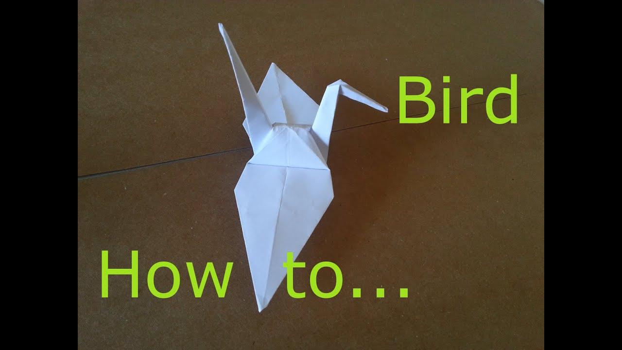 Origami paper bird how to make japanese origami paper bird origami paper bird how to make japanese origami paper bird folding paper bird youtube jeuxipadfo Choice Image