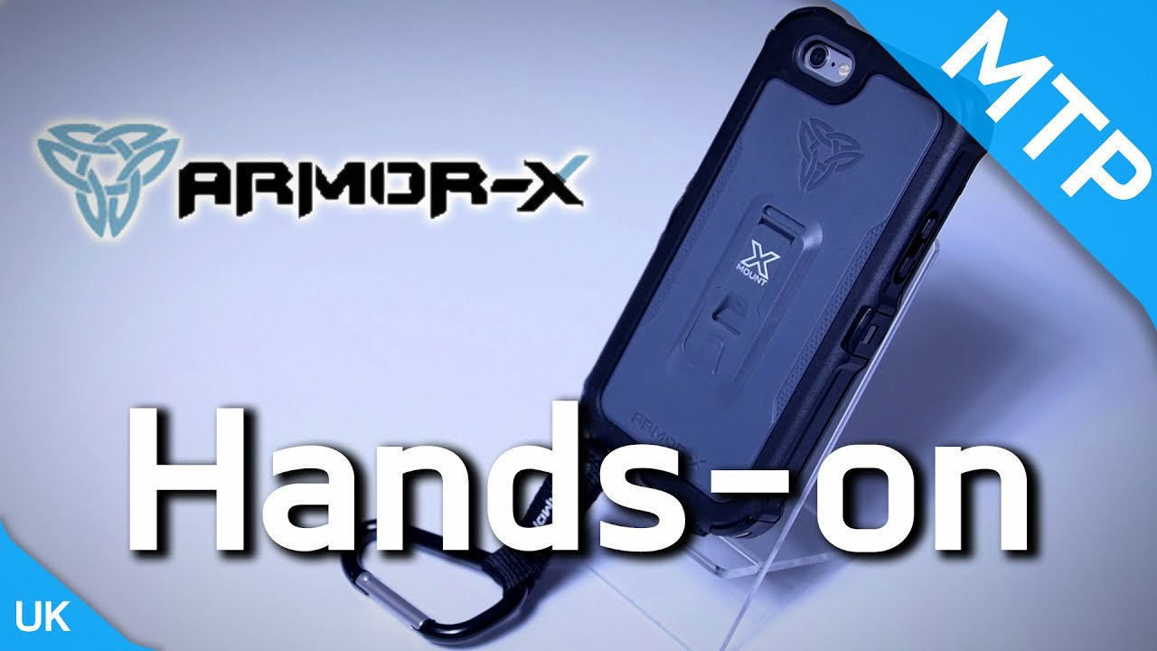 cheaper f25a2 56fdf Armor-X Waterproof iPhone 6/6S Case - Hands On Video - MyTrendyPhone