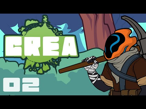 Let's Play Crea Multiplayer - Part 2 - These Caves Are Full Of Horrors!