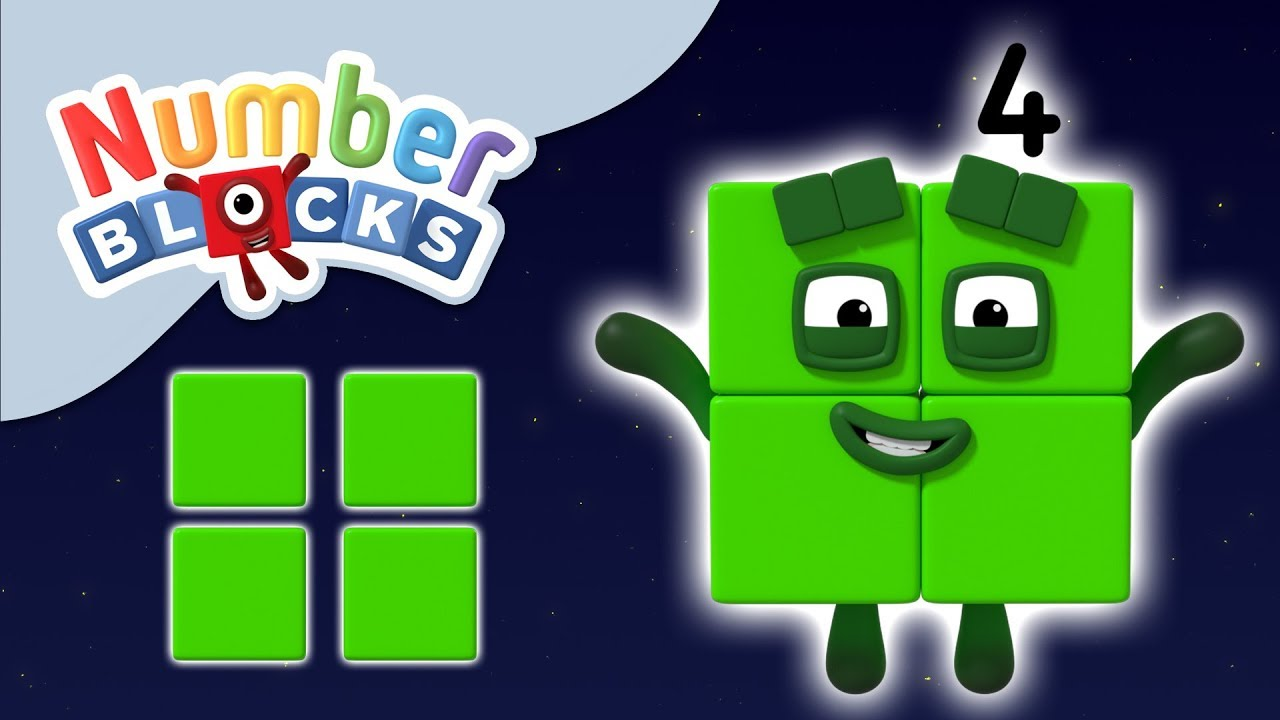 Numberblocks - The Number Four