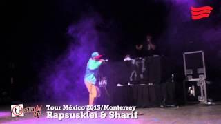 Entrevista con Rapsusklei & Sharif / Monterrey / Tour México 2013