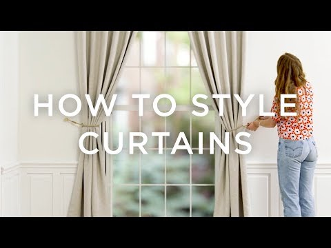 How To Style Curtains