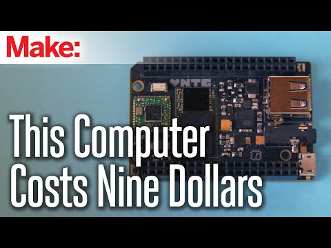 """Next Thing Co. Releases """"World's First"""" $9 Computer"""