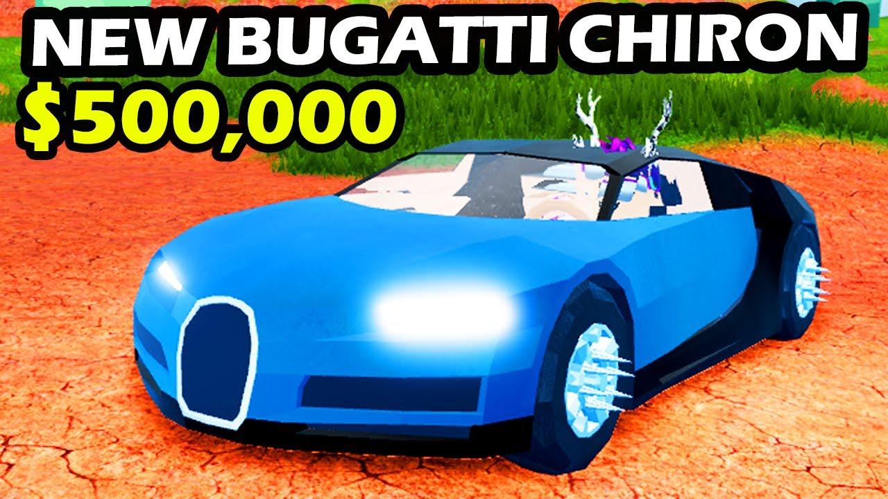 Buying The New Bugatti Chiron In Roblox Jailbreak Location