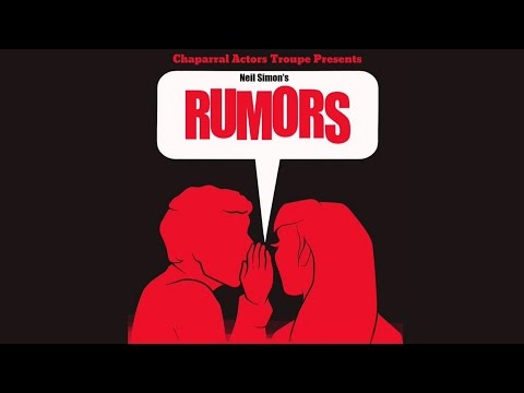 "Chaparral Actors Troupe Presents Neil Simon's ""Rumors"""