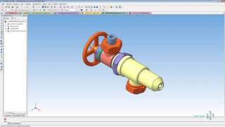 Обзор программы КОМПАС-3D [интерфейс]