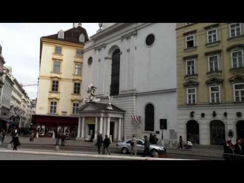 Vienna Hofburg, Michaelerkirche, Raifaisen bank,  Archäologisches Grabungsfeld Michaelerplatz