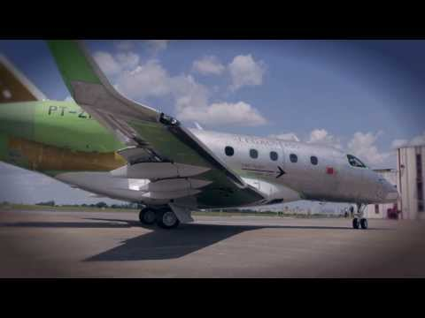 Legacy 450 First Flight