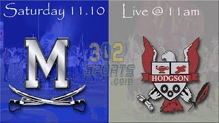 Middletown vs Hodgson Football LIVE from Hodgson