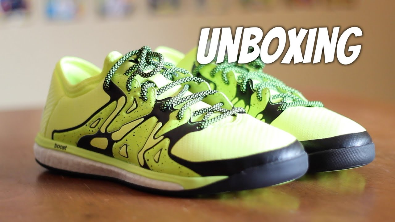 be473c91a ... purchase unboxing adidas x 15.1 boost indoor youtube c01ae 43cec