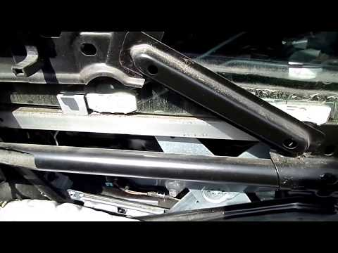 Saturn Power Window Motor & Regulator Removal