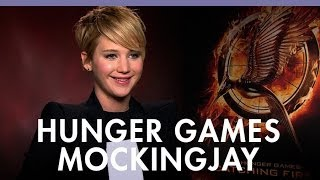 'Hunger Games: Catching Fire' Stars And Director On 'Mockingjay'