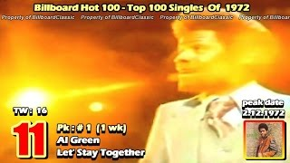 "1972 Billboard Hot 100 ""Year-End"" Top 100 Singles [ 1080p ]"