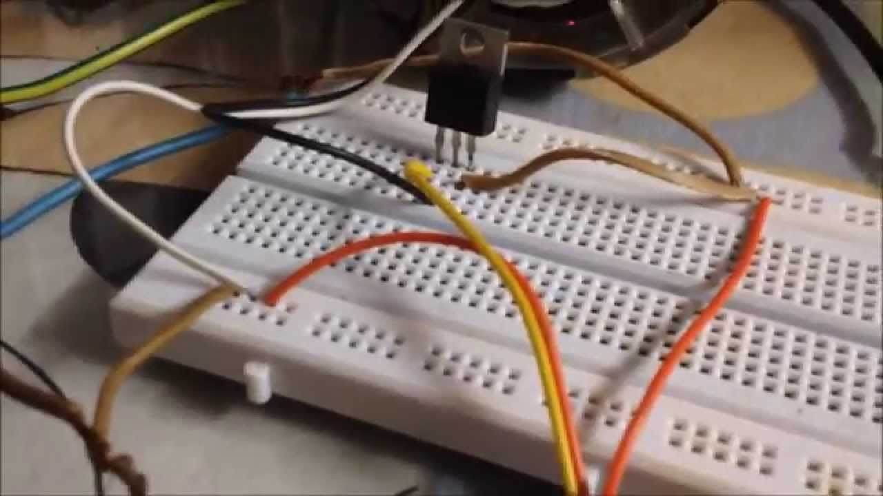 simplest dc motor speed controller using mosfet and potentiometer youtube [ 1280 x 720 Pixel ]
