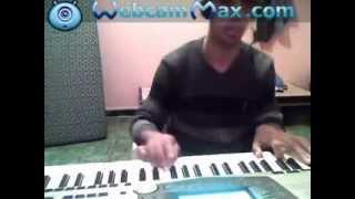 "cheb hasni instrumental rai by "" Affif Sadame "" yamaha a1000"