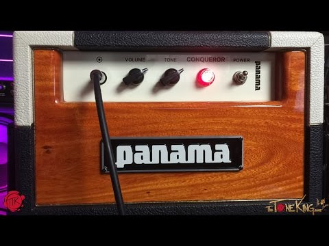 Panama Guitars - Conqueror - Demo & Review