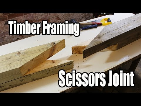 Download Youtube: Timber Framing Scissors Joint