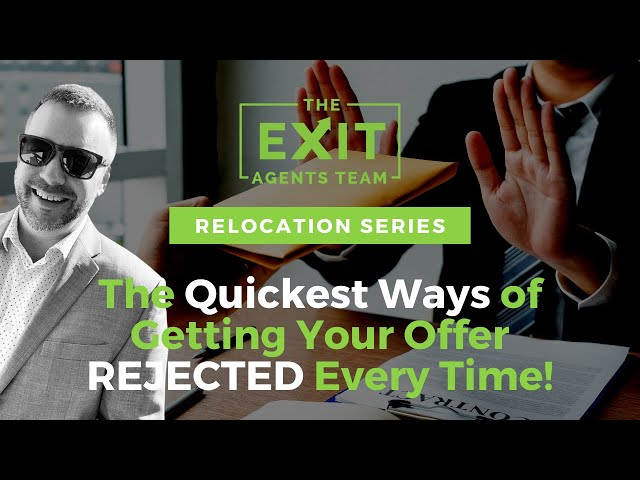 The Quickest Ways of Getting Your Offer REJECTED! Relocating To Eugene, OR