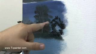 How to Oil Paint Various Trees- With Michael Thompson