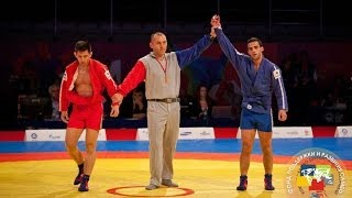 SAMBO competition has finished at the World Combat Games