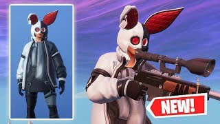NEW BLACK/WHITE FLAPJACKIE Skin Gameplay in Fortnite!