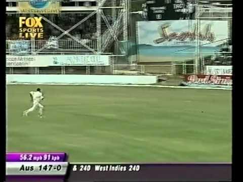 Justin Langer 111 vs West Indies 2003 4th test